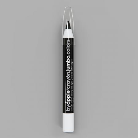 Crayón Jumbo by Apple Colors Black 0501001