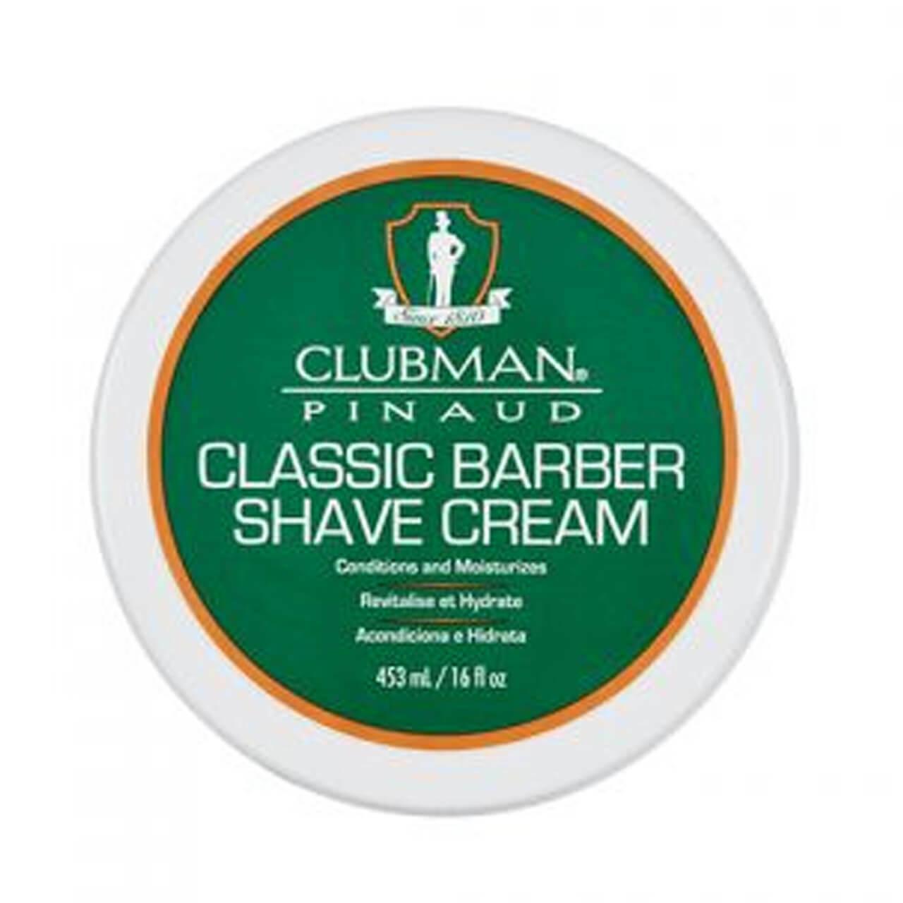 Barber Shave Cream Clubman Classic 16oz. 28006
