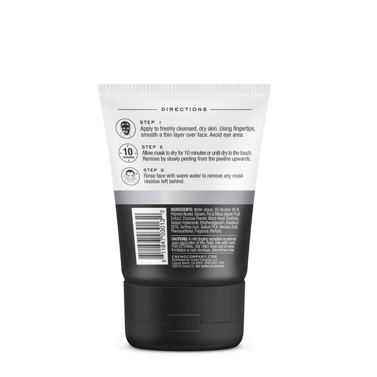 Cremo Detoxifying Peel Off Mask 3oz. 03013