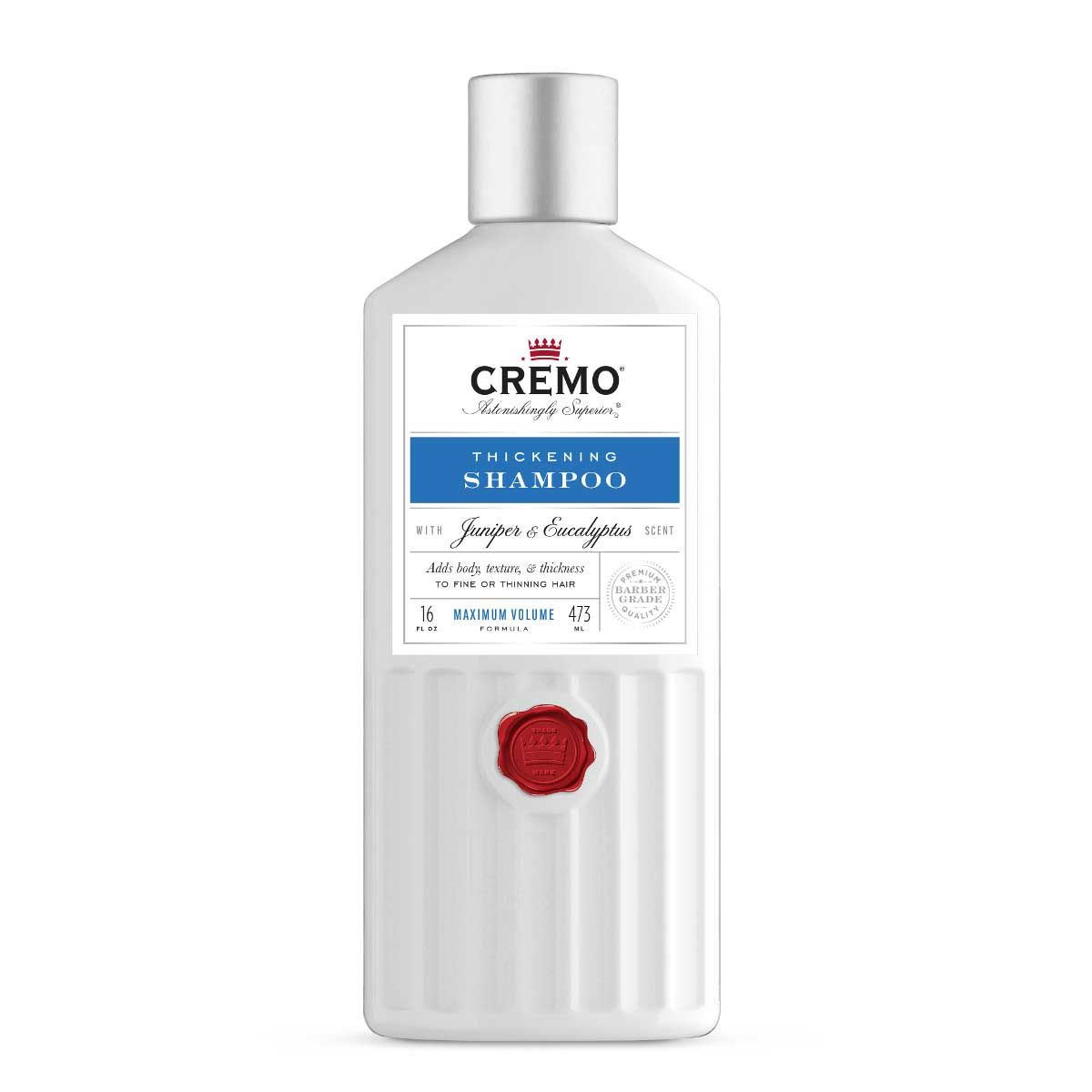 Cremo Juniper & Eucalyptus Thickening Shampoo 16oz. 03051