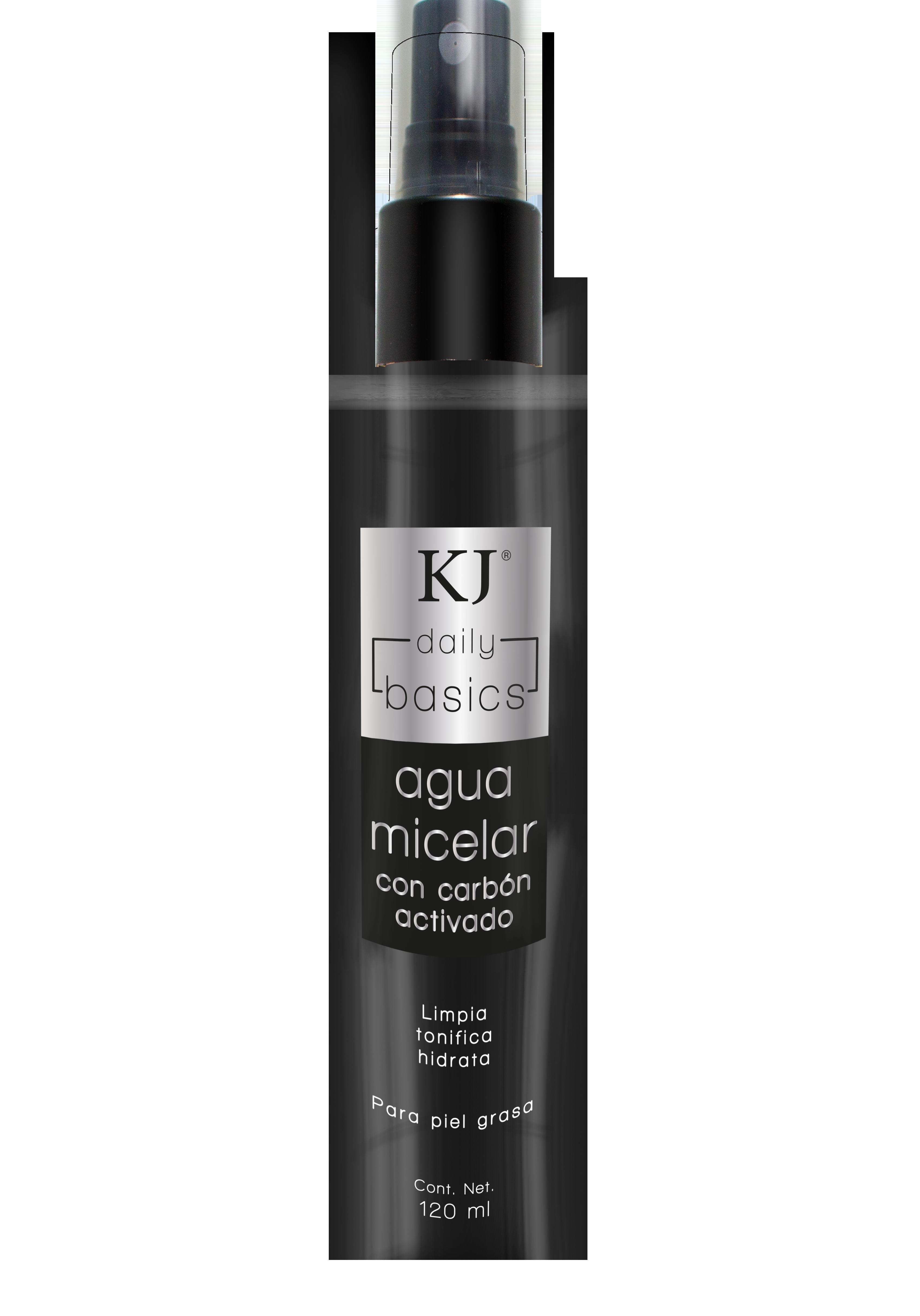 Agua Micelar KJ Basics Desmaquillante Con Carbón Activado 7506289930654